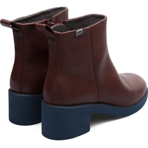 Camper Wonder Burgundy Ankle Boots Women K400321-003