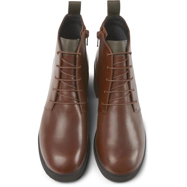 Camper Wonder Brown Ankle Boots Women K400326-004