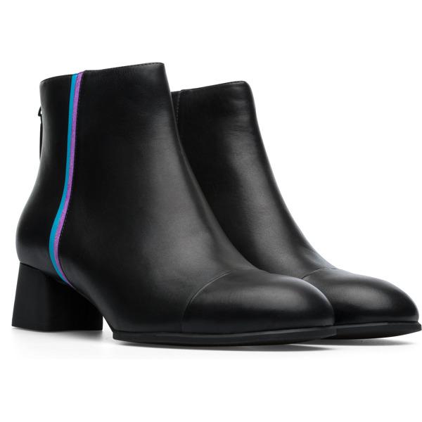 Camper Twins Black Ankle Boots Women K400341-003