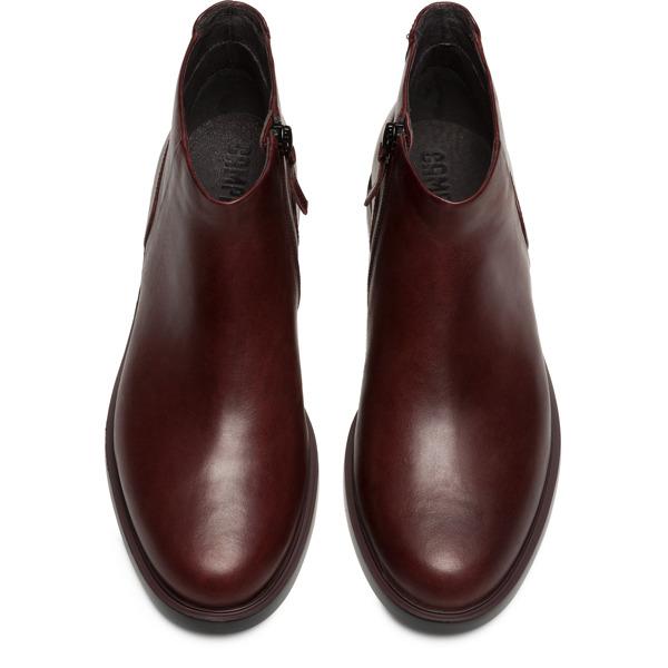 Camper Iman Burgundy Formal Shoes Women K400347-002
