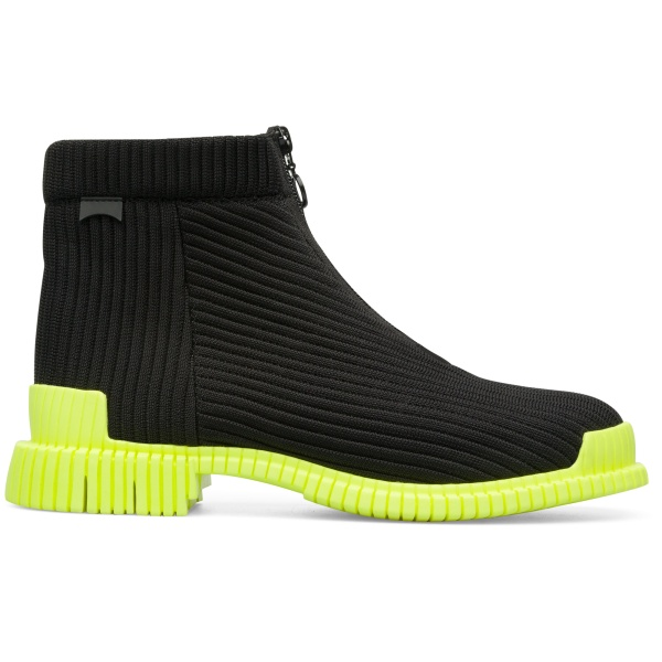Camper Pix Black Ankle Boots Women K400356-003