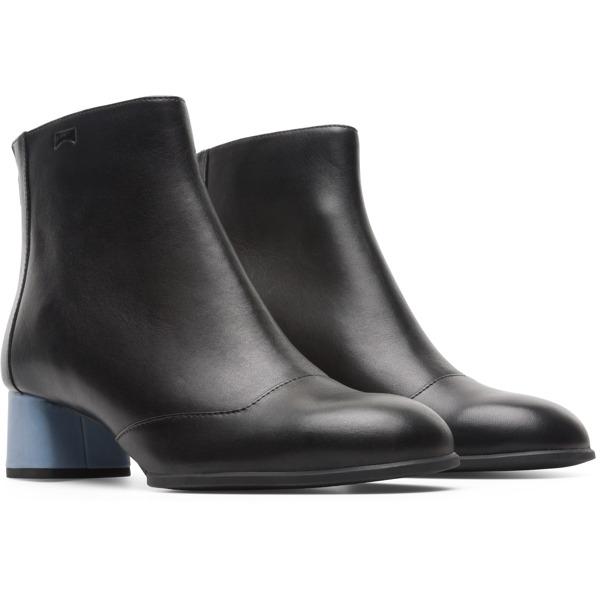 Camper Twins Black Ankle Boots Women K400359-001