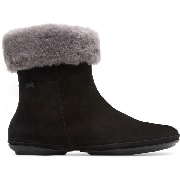 Camper Right Black Ankle Boots Women K400378-001