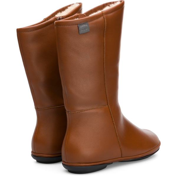 Camper Right Brown Boots Women K400379-002