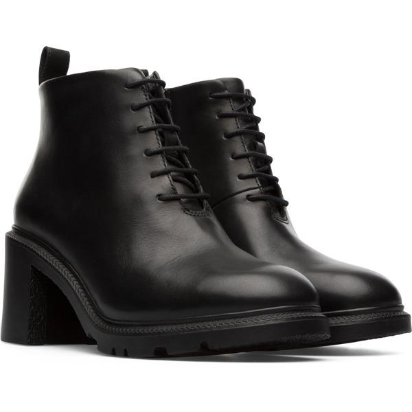 Camper Whitnee Black Ankle Boots Women K400381-001