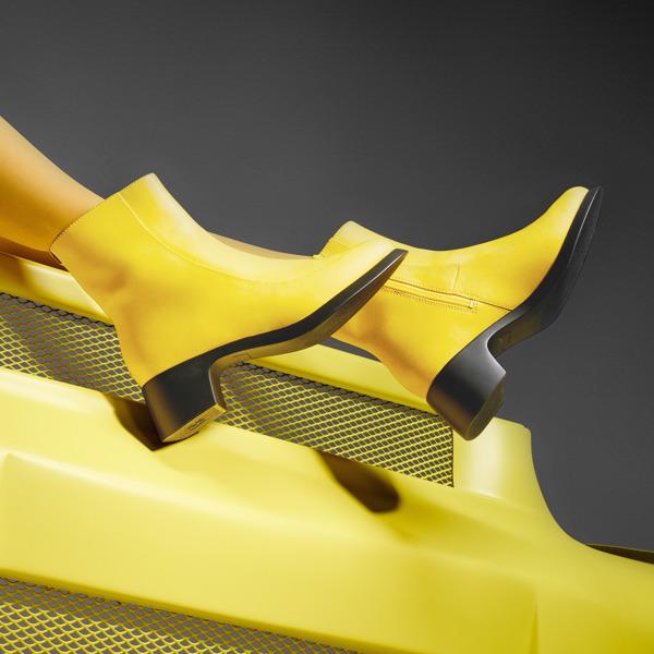 Camper Trisha Yellow Boots Women K400383-001