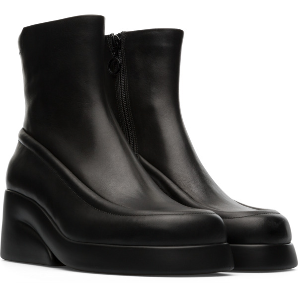 Camper Kaah Black Boots Women K400384-001
