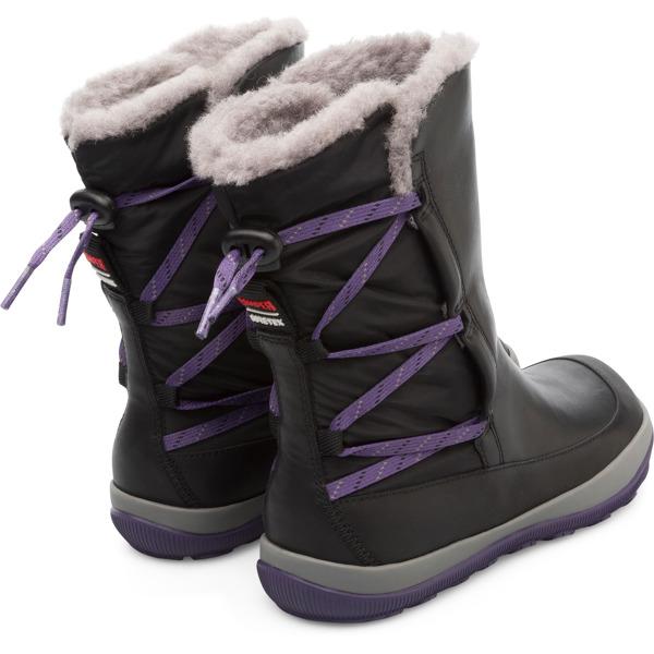 Camper Peu Pista Black Boots Women K400386-001