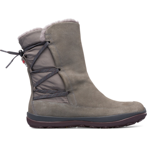 Camper Peu Pista Grey Boots Women K400386-003