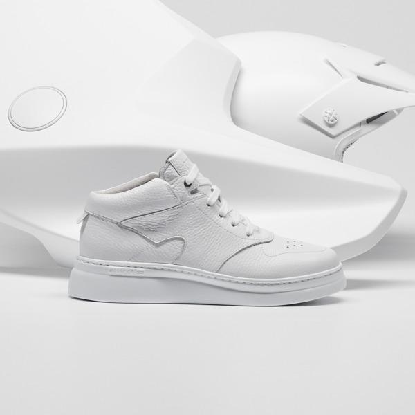 Camper Runner Up White Sneakers Women K400387-003