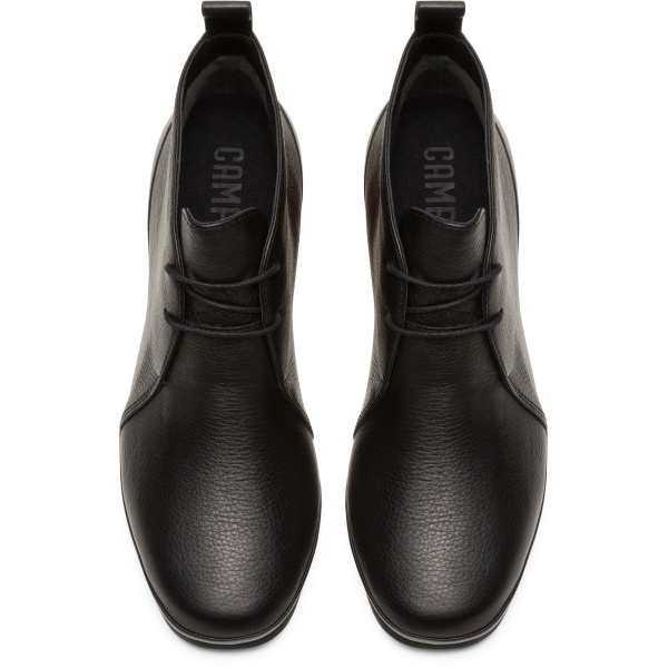 Camper Alright Black Ankle Boots Women K400394-002