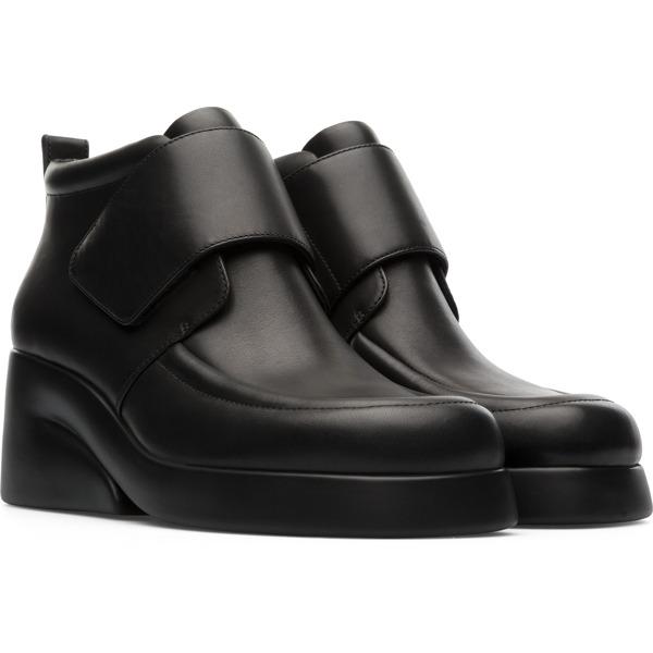 Camper Kaah Black Ankle Boots Women K400396-001
