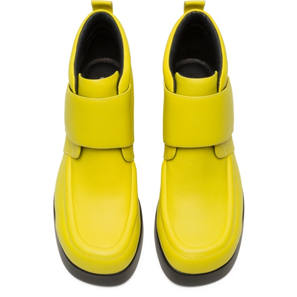 Camper Kaah Yellow Ankle Boots Women K400396-002