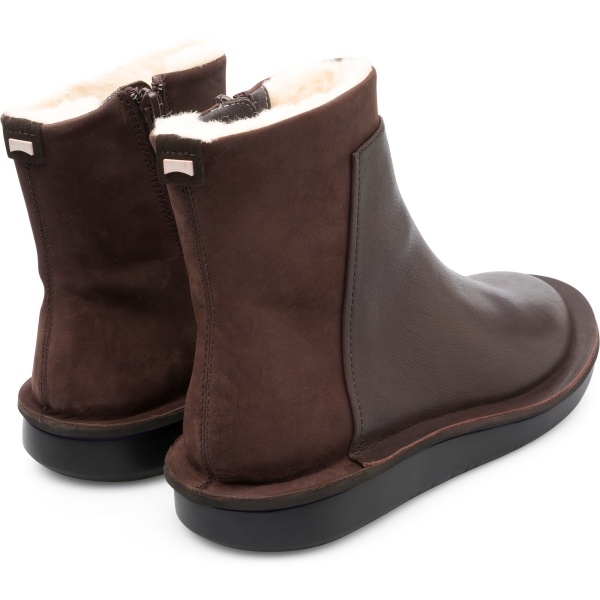 Camper Formiga Brown Ankle Boots Women K400403-001