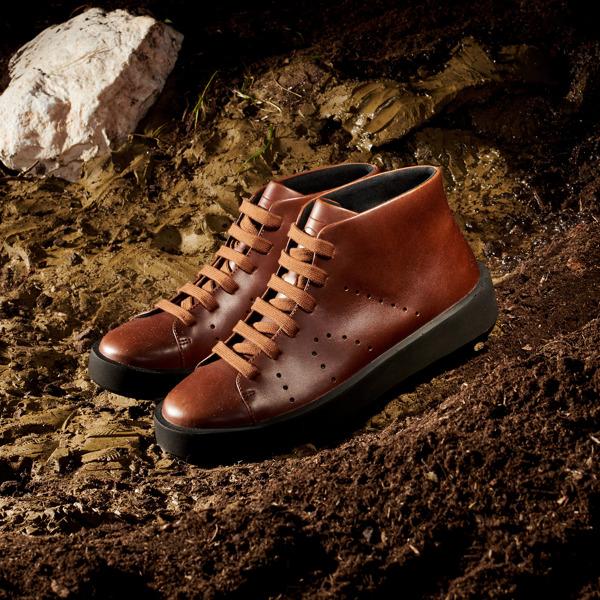 Camper Courb Brown Sneakers Women K400406-004