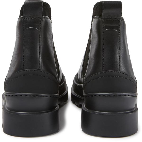 Camper Brutus Black Ankle Boots Women K400407-001