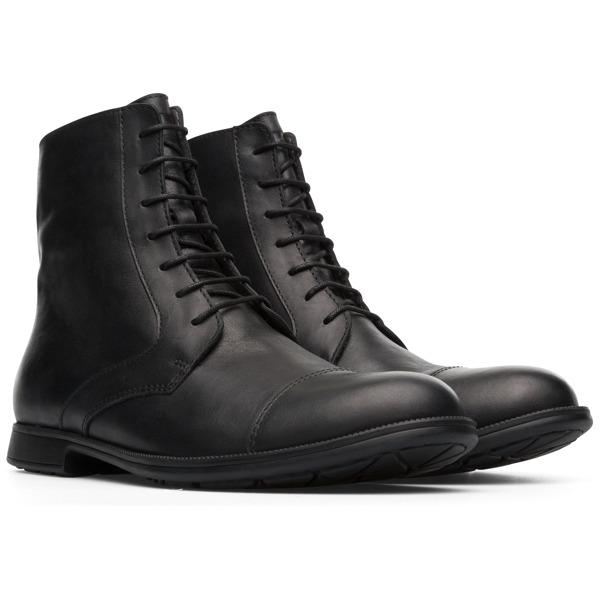Camper Mil Black Ankle Boots Women K400418-001