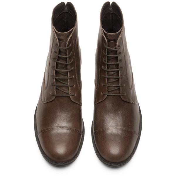 Camper Mil Grey Ankle Boots Women K400418-002