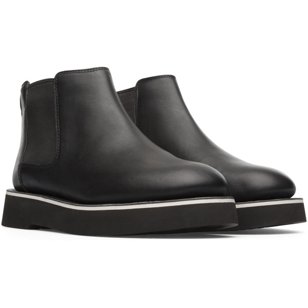 Camper Tyra Black Ankle Boots Women K400427-001