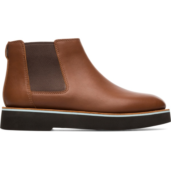 Camper Tyra Brown Ankle Boots Women K400427-002