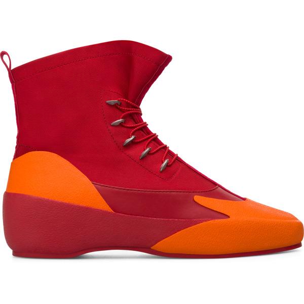 Camper Kiko Kostadinov Red Ankle Boots Women K400431-001