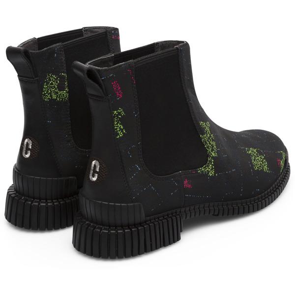 Camper Twins by Cristian Zuzunaga Multicolor Flat Shoes Women K400432-001