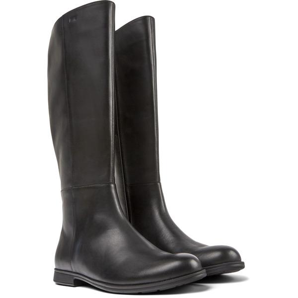 Camper Mil Black Boots Women K400451-001