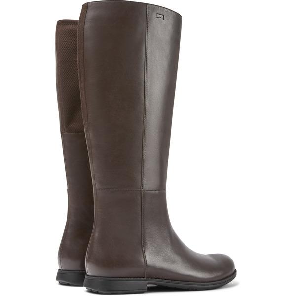 Camper Mil Brown Boots Women K400451-003