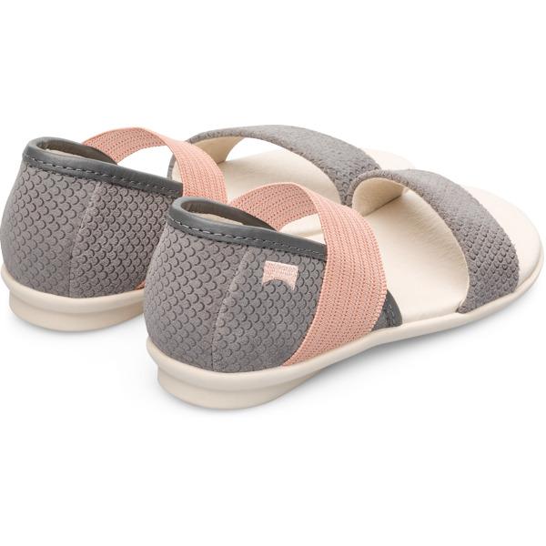 Camper Right Grey Sandals Kids K800041-012