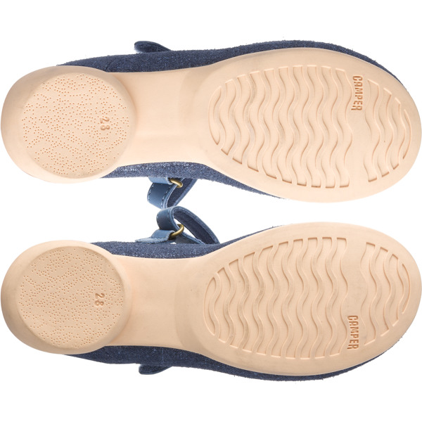 Camper Twins Blue Ballerinas Kids K800124-001