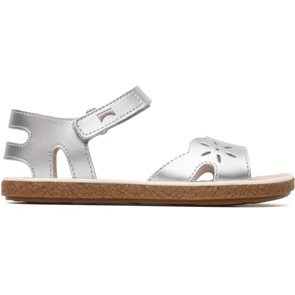 Camper Miko Grey Sandals Kids K800160-002