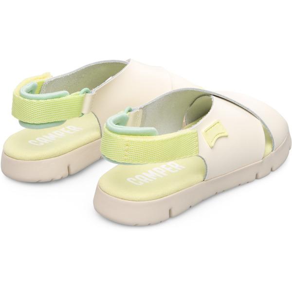 Camper Mira Beige Sandals Kids K800163-008