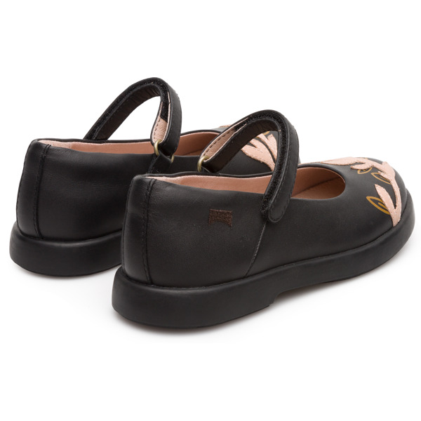 Camper Twins Black Ballerinas Kids K800227-001