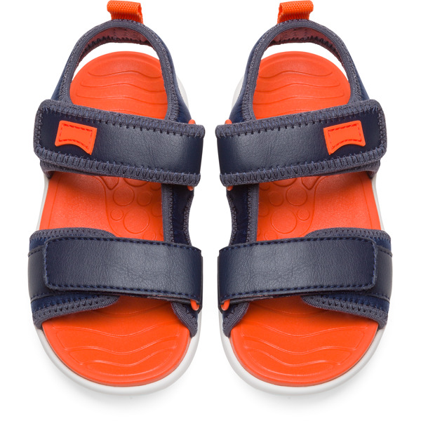 Camper Wous Blue Sandals Kids K800238-002