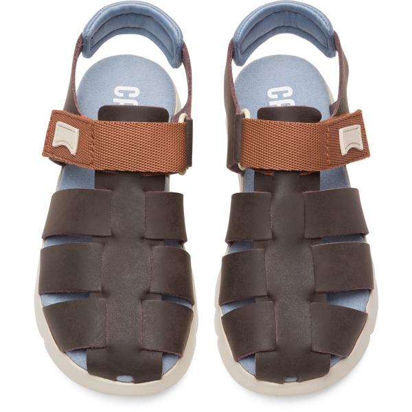 Camper Mira Brown Sandals Kids K800242-001