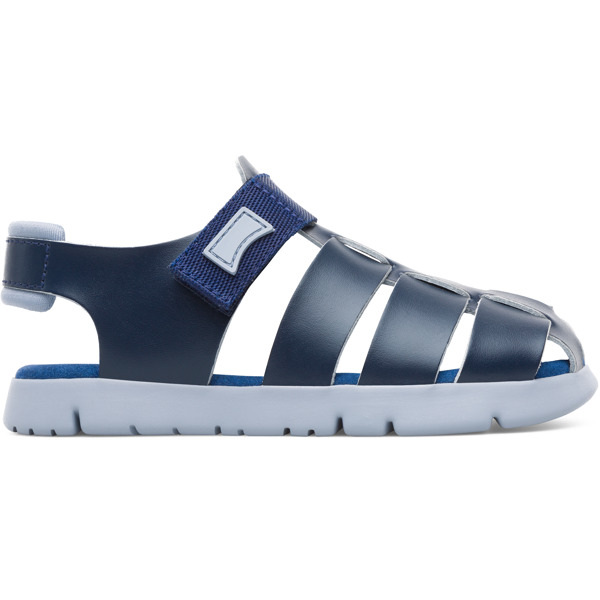 Camper Mira Blue Sandals Kids K800242-002