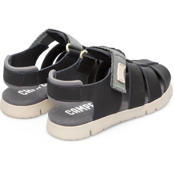 Camper Mira Black Sandals Kids K800242-003