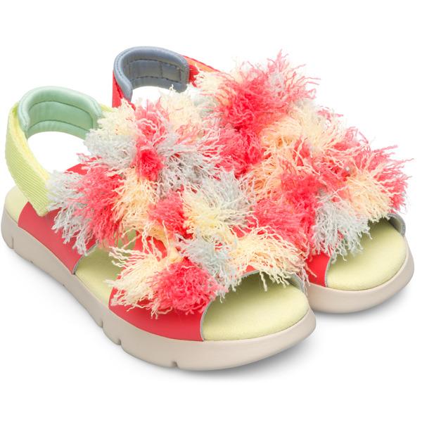 Camper Twins Pink Sandals Kids K800246-001