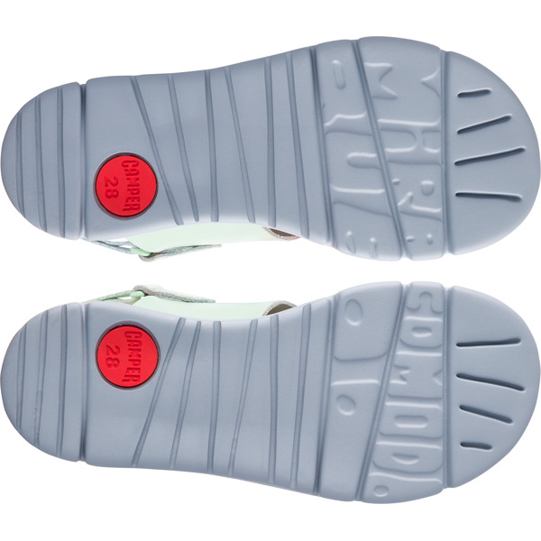 Camper Twins Green Sandals Kids K800246-002