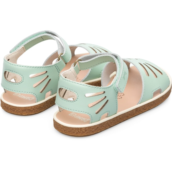 Camper Miko Green Sandals Kids K800259-001