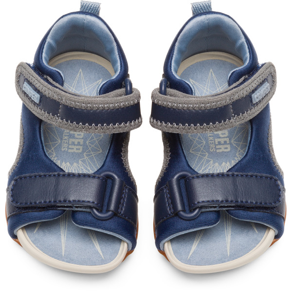 Camper Ous Blue Sandals Kids K800275-001