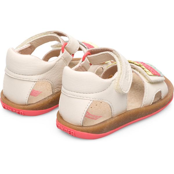 Camper Twins Beige Sandals Kids K800280-002