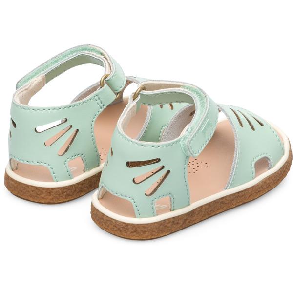 Camper Miko Green Sandals Kids K800282-002