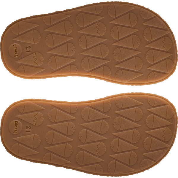 Camper Twins Beige Sandals Kids K800283-002