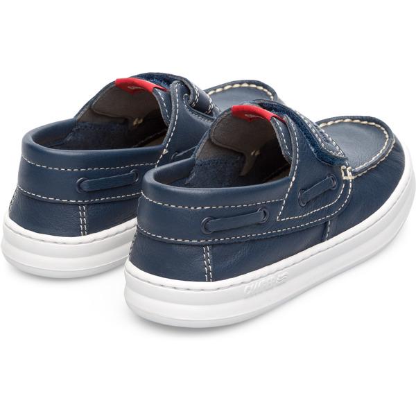 Camper Runner Blue Velcro Kids K800294-001