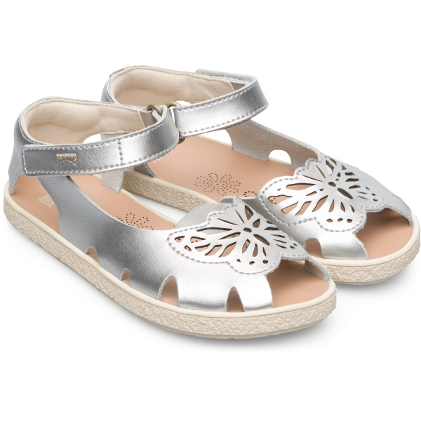 Camper Twins Grey Sandals Kids K800300-002