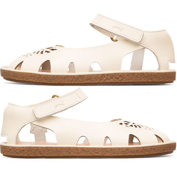 Camper Twins Beige Sandals Kids K800300-003