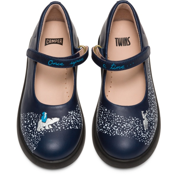 Camper Twins Blue Ballerinas Kids K800327-001