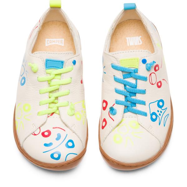 Camper Twins Beige Sneakers Kids K800350-002