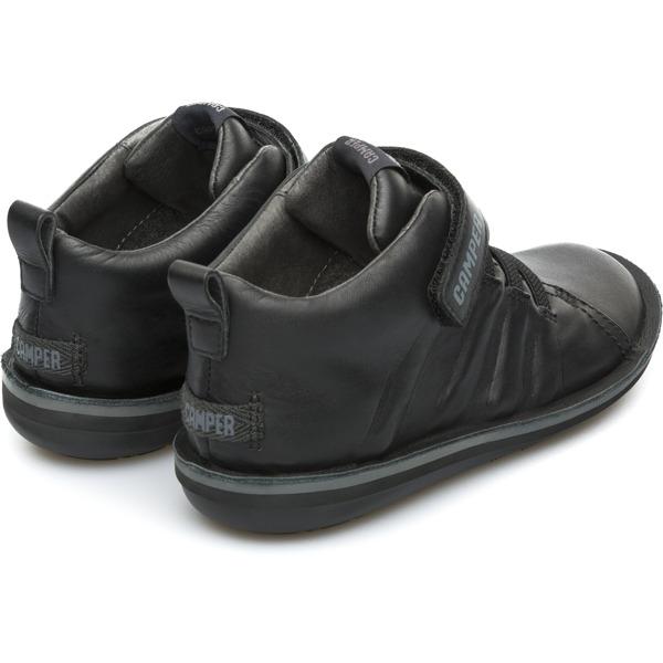 Camper Beetle  Black Boots Kids K900051-002